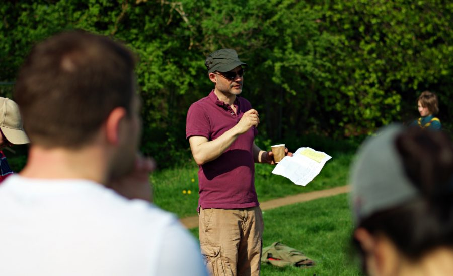 Friends of Manor Park- Simeon Briefing